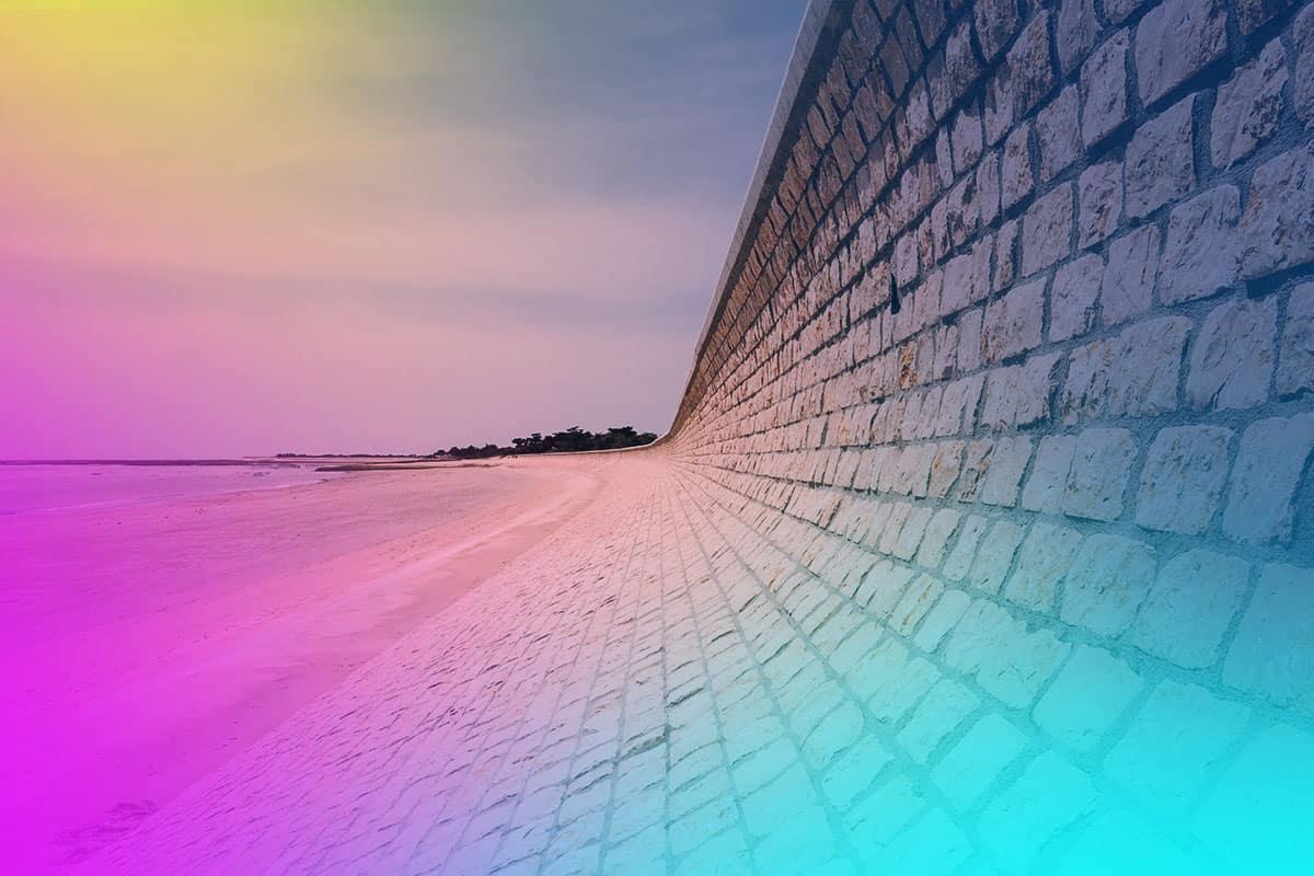 Retention-Wall